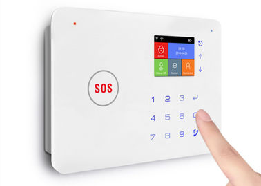 GSM WIFI GPRS Household Alarm Systems Anti Theft With IP Camera Smart Home