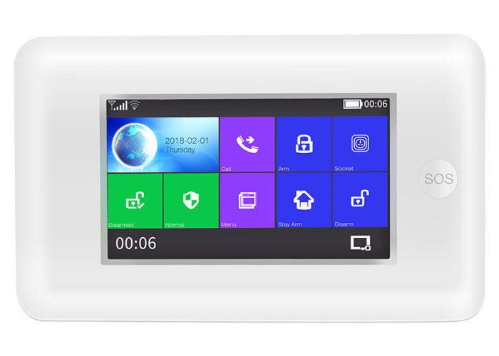 HAK WIFI Wireless Home Burglar Alarm Systems With Touch Screen Amazon Alexa
