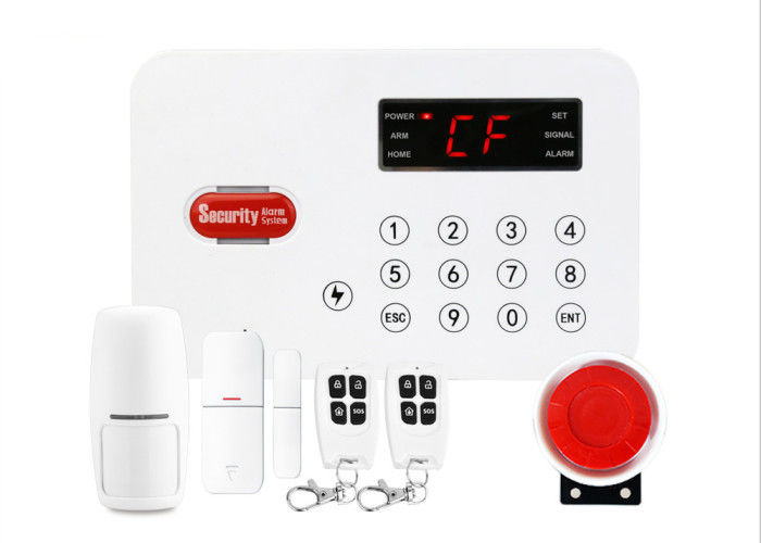 Wireless Wired PSTN Home Alarm System 50 Wireless Zones SOS Button Remote Control
