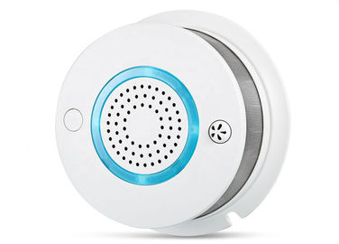 China Gas Smoke Detector WIFI APP Remote Control 3V Battery Operated Smoke Alarm factory