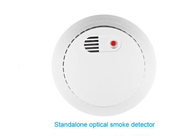 China Fire Alarm Gas Smoke Detector White Color 433MHZ Wireless For Alarm System factory
